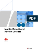 Mobile Broadband Review 2014H1