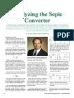 Sepic Analysis