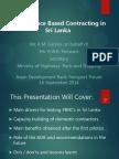 ADBTF14_C1 Performance Based Contracting in Sri Lanka