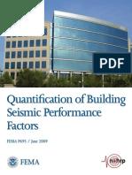 Fema_p695 Quantification of Building Seismic Performance Factors
