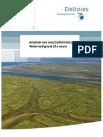 Analyse slachtofferrisico's waterveiligheid 21e eeuw.