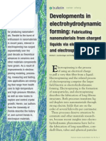 Electrospinning Cover Story