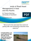 ADBTF14_C2 Recent Trends of Road Asset Management in Asia and the Pacific