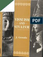 Visnuism and Sivaism a Comparison - Jan Gonda