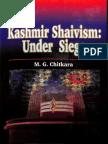 Kashmir Shaivism Under Siege - M. G. Chitkara