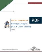 1.7 Bekerja Denga1.6 Argumen Dari CommandLine.pdfn Java Class Library