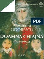 Alexandru Odobescu - Doamna Chiajna