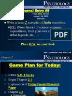 Psychology chapter 2