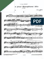 Sonata de j. Absil Parte de Sax