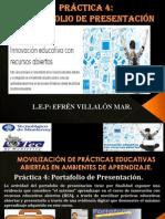 Practica 4. Portafolio de Presentación.