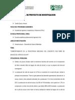 Perfil Del Tema de Investigacion