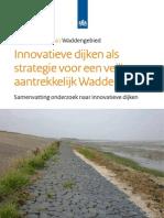 Innovatieve dijken als strategie voor een veilig en aantrekkelijk waddengebied. Samenvatting onderzoek naar innovatieve dijken.