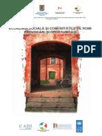 Economia Sociala Si Comunitatile de Romi Provocari Si Oportunitati