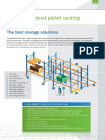 STOW Conventional Pallet Racking