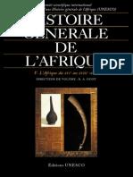 Histoire Générale de l'Afrique v - L'Afrique Du XVIe Au XVIIIe Siècle