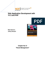 9781783981885_Web_Application_Development_with_Yii_2_and_PHP_Sample_Chapter