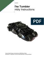 Lego Moc Ideas the Tumbler Assembly Instructions