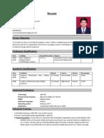 Shashank Resume