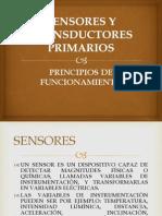 Sensores y Transductores Primarios