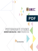Ips Postgraduate Studies 2010-11