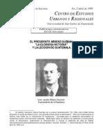 El Presidente Arbenz Guzman