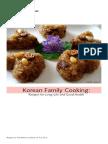 Korean Recipe Packet