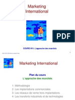 Mkt Int Cours6 Approchemarche