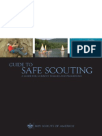 Guide to safe scouting