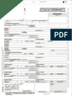 Formulario de Novedades de Ingreso Del Trabajador Dependiente a La ARL