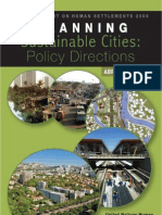 Planning Sustainable Cities Global Report on Human Settlements 2009 Abridged Edition