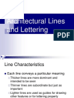 Arch Lines and Lettering