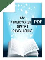 Chemistry Pre-u Chemistry Sem 1 Chap 3