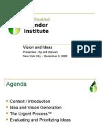 Jeff Stewart, Founder Institute Presentation, 12/03/09, New York City