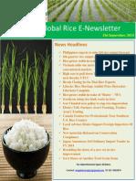 23rd September,2014 Daily Global Rice E-Newsletter by Riceplus Magazine