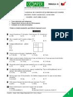 Matematica EtapaN 13-14 ClasaI