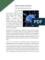 Desarrollo Cognitivo y Educación Sandra