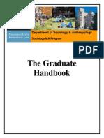 MA Sociology Handbook