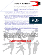 PAGE 34 Parents - Netball Pics