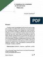 8 - Estructura y Desarrollo en La Ensenanza de Jacques Lacan. Primera Parte