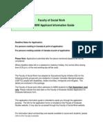 Pre-MSW Info Guide 2014-2015 Oct 13