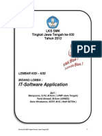 Kisi-kisi Lks Xxi Jateng 2012 - It_software Application