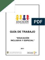Guia de Trabajo Educacion Inclusiva