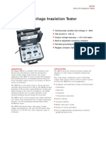 MIT30 30-kV HV Insulation Tester
