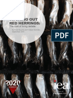 Smoking Out Red Herrings- The Cost of Living Debate