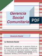 Gestion Social Comunitaria