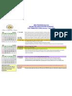 Online PreReg Schedule 22008