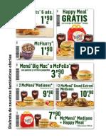 Descuentos Macdonalds