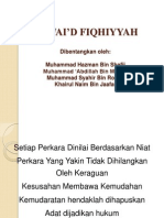 Qawai'd Fiqhiyyah