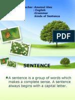 Kinds of Sentence(PPT)