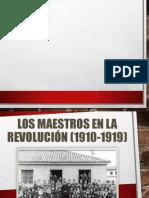 Los Maestros en La Revolución